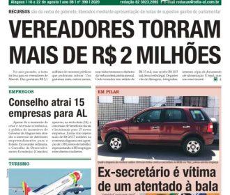 VEREADORES TORRAM MAIS DE R$ 2 MILHÕES