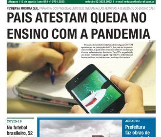 PAIS ATESTAM QUEDA NO ENSINO COM A PANDEMIA