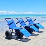 Praia para todos: Pessoas com deficiência já podem voltar a solicitar cadeiras anfíbias