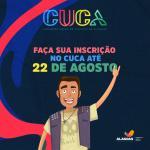 Prazo para inscrições no Cuca segue até o dia 22 de agosto