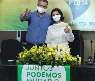 PTB e Podemos fazem aliança em São José da Laje