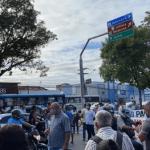 Funcionários e ex-funcionários da Veleiro realizam novo protesto em Maceió