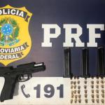Dois homens foram presos pela PRF em ocorrências distintas na BR 101