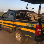 PRF detém homem por crime de trânsito e recupera moto roubada em situações distintas na BR 101