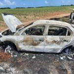 Colisão entre carros resulta em incêndio e em uma vítima ferida na AL 101 Sul