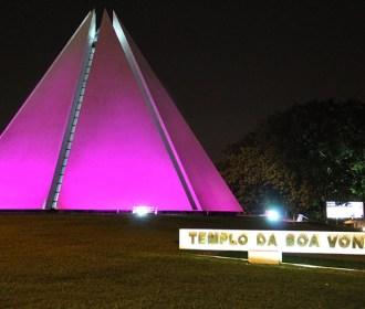 Campanha Outubro Rosa no Templo da Boa Vontade