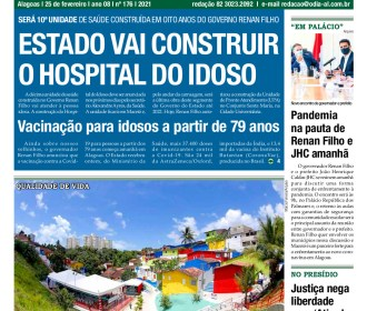 ESTADO VAI CONSTRUIR O HOSPITAL DO IDOSO