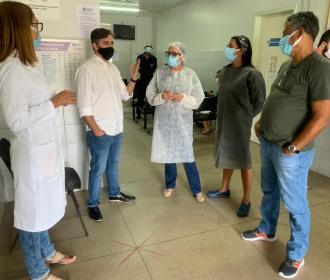 Caso Pinheiro: Vereador se encontra com equipe de unidade de saúde que será fechada