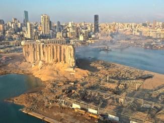 Beirut devastada