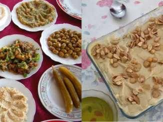 Lebanese food - Mezze and Fatteh