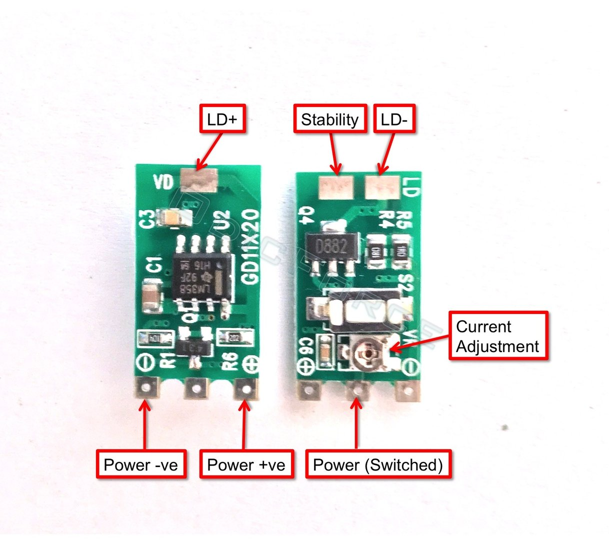 hight resolution of 50 400ma lm358 constant current driver 3 5 5 0v hand held
