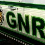 Militares da GNR feridos após viatura ser abalroada, em Reguengos de Monsaraz