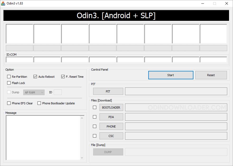 Odin3 Flash Tool v1.83