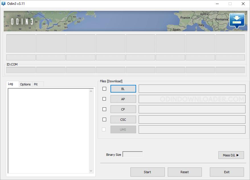 Odin3 Flash Tool v3.11.2 NewUI