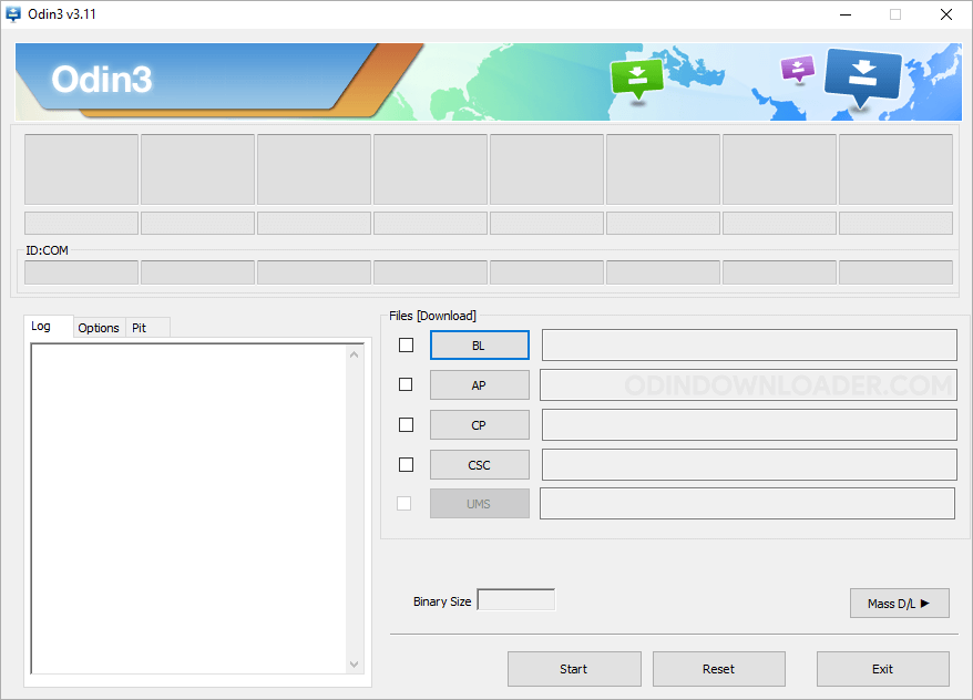 Odin3 Flash Tool v3.11.2
