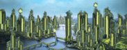 Materialist city (yellow variant)