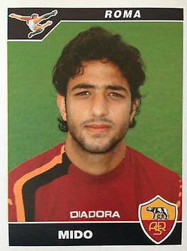 """Ahmed Hossam Hussein Abdelhamid """"Mido"""", uno de los futbolistas que han tenido el honor de jugar para Ajax y Roma, y un montón de equipos más."""