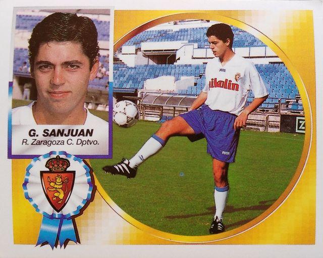 Jesús García Sanjuán. Nos acordamos de un centrocampista luchador del Real Zaragoza, de la buena época del club maño.