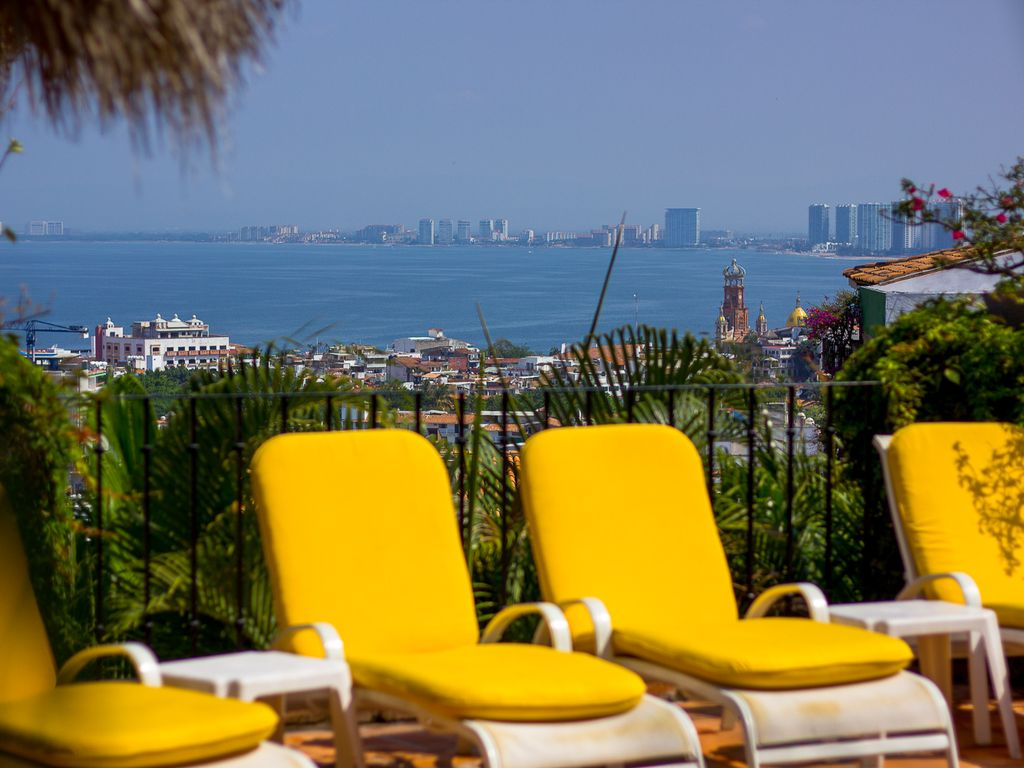 Blue Chairs Puerto Vallarta Beautiful Fully Staffed Spanish Colonial Puerto Vallarta Private Home South Shore Hotel Area