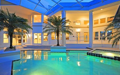 Luxury Contemporary Mansion Miami Vice Style Spruce Creek