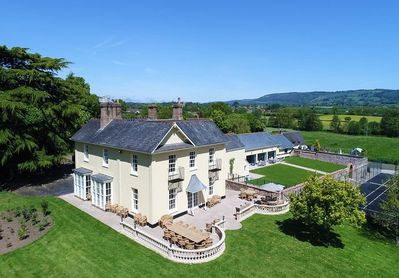large holiday house 10 en suite rooms indoor pool tennis court hot tub and cinema room bishops lydeard