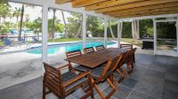 Miami Beach, waterfront pool home on private island, large ...