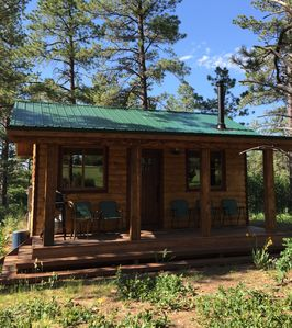 Secluded Rustic Cabin Near The San Juan National Forest