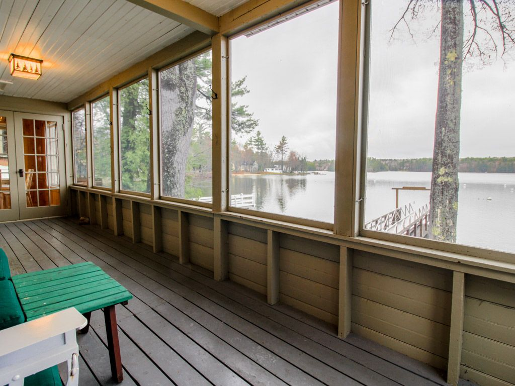 Lakefront Home W Screened Porch Amp Dock On Vrbo