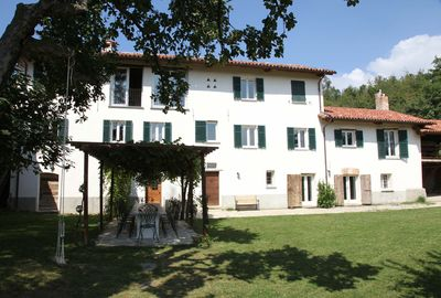 Farmhouse in Priero Piedmont with private bio pool total