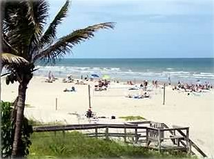 Oceanfront Cocoa Beach Florida  Paradise at Your