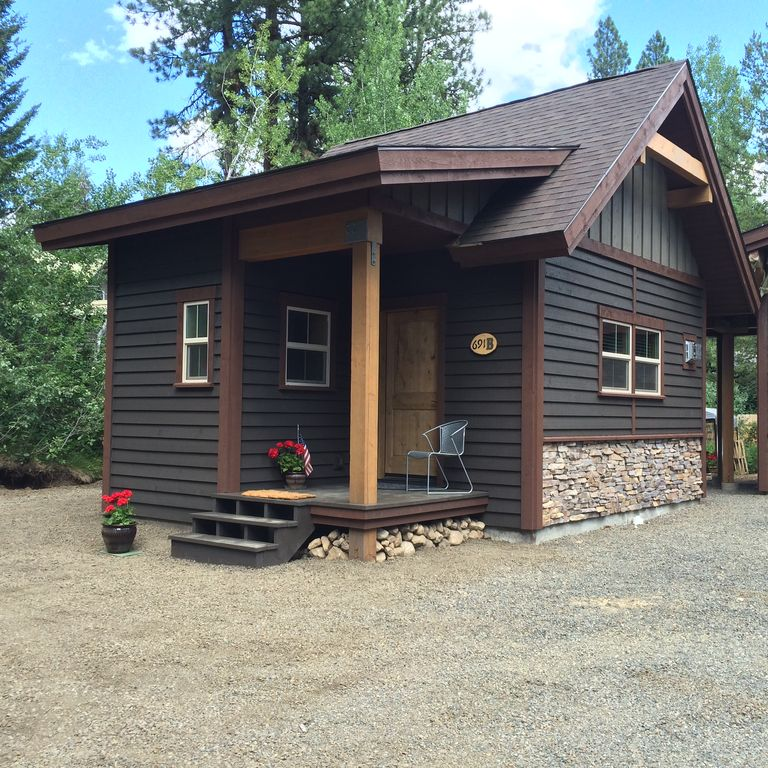 Secluded Cabin Near Downtown McCall Idaho  McCall