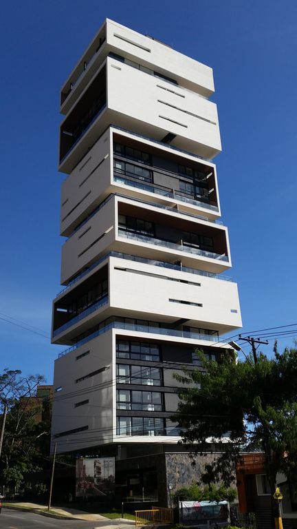 Coolest building MedellinApt 1701Roof To  HomeAway