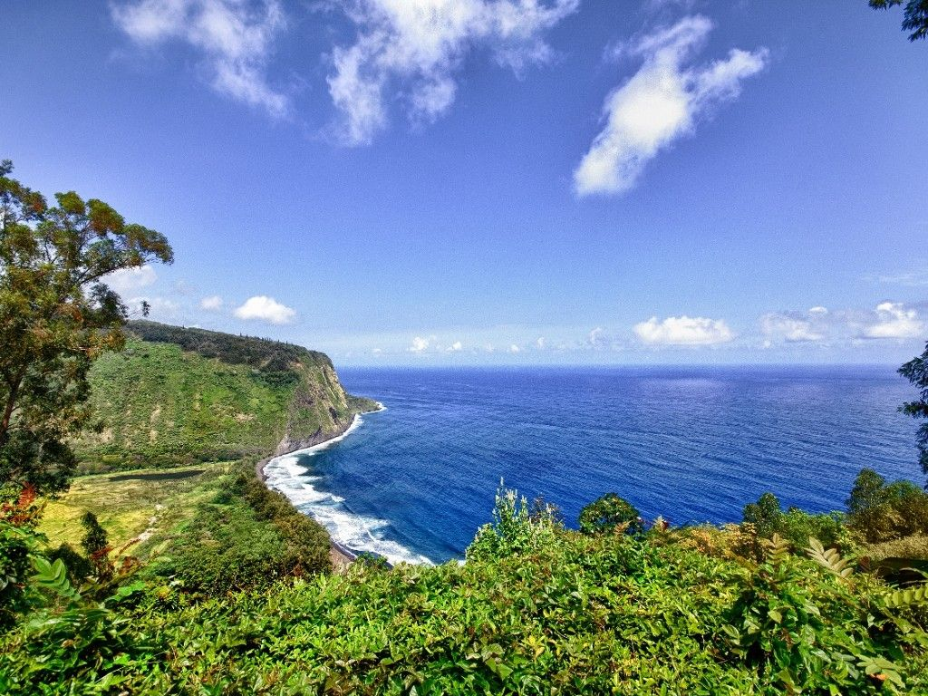 Staggering Waipio Valley And Ocean View