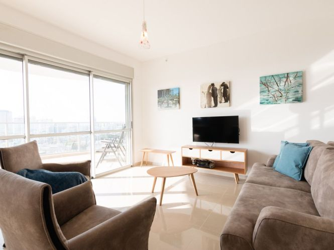 Bat Yam Balfour 58 Apartment For 6 People In