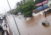 Waterlogging in Bhubaneswar
