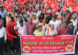 Kisan long March in Maharashtra
