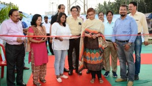 Tourism secretary and director archana patnaik inaugurates food festival at IDCO Exhibition ground on world tourism day