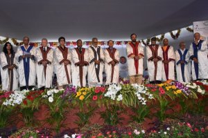 Odisha Governor Prof. Ganeshi Lal at KIIT 14th Convocation
