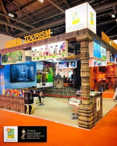 Odisha Tourism stall at WTM, London