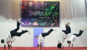 Boys show their skills at Thirkan - XIMB