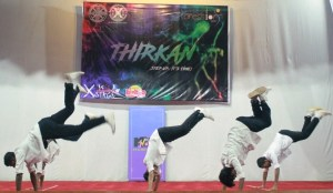 Boys show their skills at Thirkan - XIMB