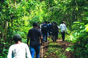 Ecotourism Odisha -jungle_trek