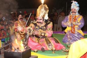 Kansha Maharaja of Baragarh Dhanu yatra