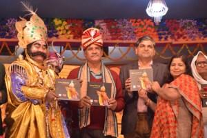 Coffee Table Book Inaugarates at Bargarh Dhanu Yatra