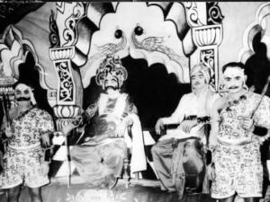 Yudhisthir satpathy kansha of Baragarh Dhanu yatra