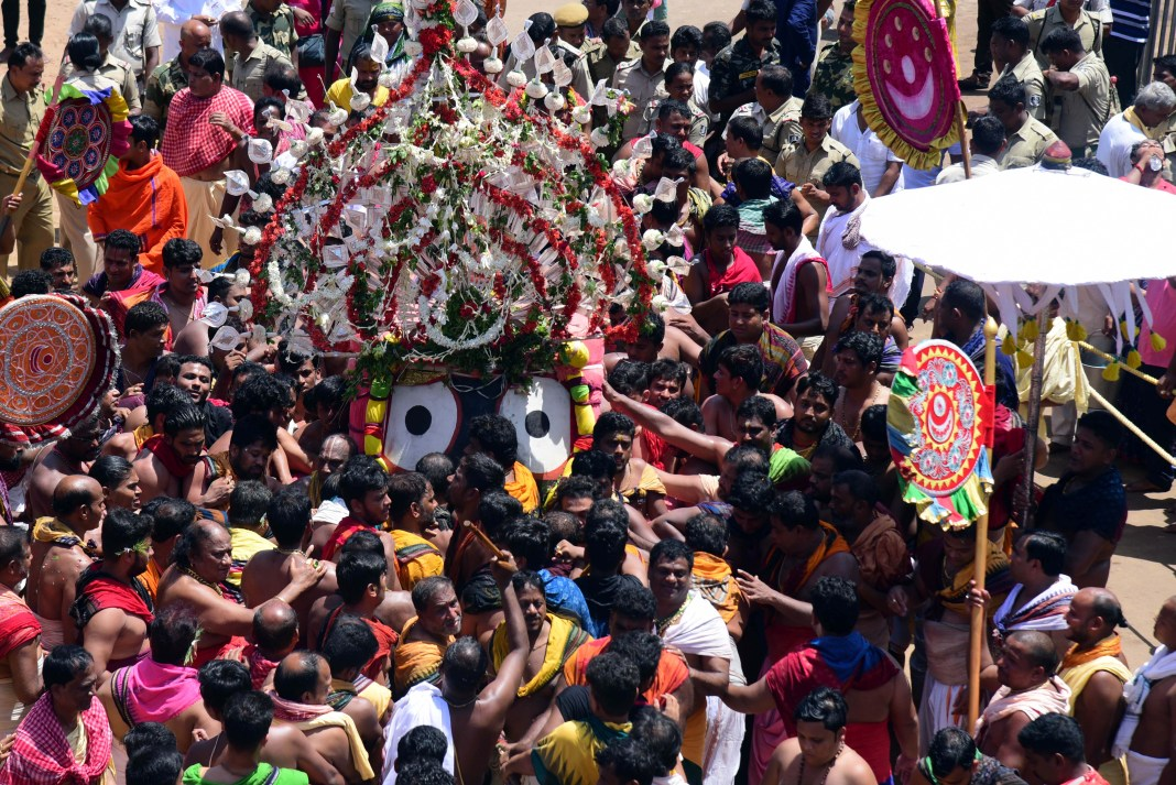 Bahuda Yatra (Return Chariot Festival of Lord Jagannath) at Puri, Odisha - Rath Yatra 2019