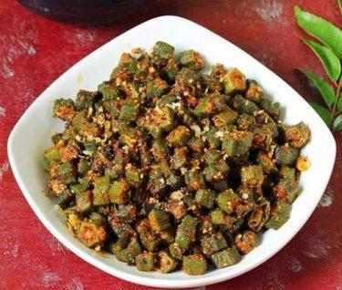 bhindi coconut masala-2