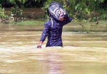 flood in balasore area pic
