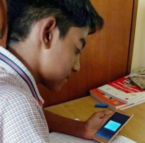 oniline class through mobile