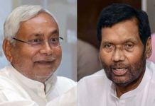 Nitish Kumar (JDU) and Ram Vilas Paswan (LJP)